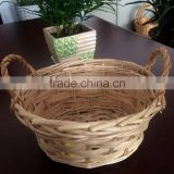 Oval wicker spa bath sets,cheap wicker flower basket for decoration