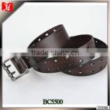 Western style genuine leather belts,belts for men