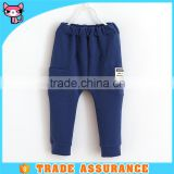 Wholesale blue new pants design for boy