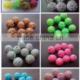 Beautiful Chunky Resin Ball beads wholesale 20mm in stock for litter girls Necklace Jewelry