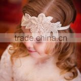 New arrival party and event crystal applique accessories , Lovely embroidered beaded hair accessories                                                                                                         Supplier's Choice