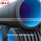 Free Sample HDPE 300mm DWC Drainage Pipe Supplier , HDPE Double Wall Corrugated Pipe Supplier