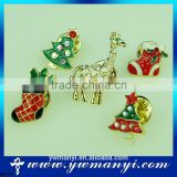 European And American Fashion Christmas Trees Brooches Chain Brooch Vintage Pin B0129