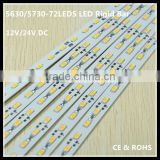 High CRI 5630 72pcs 36W Rigid led strip/1 meter SMD 5730 led strip tape