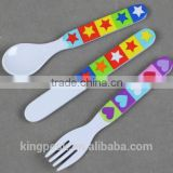 2015 Best Selling Kids First Cutlery Set/Plastic spoon fork knife cutlery set/Plastic cutlery set/best christmas gift