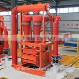 portable water well drilling equipment customized desander