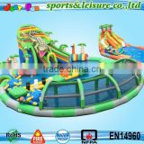 Summer Hot Sale customized giant water park inflatable for sale,cheap inflatable water park