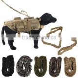 New Arrival Nylon Tactical K9 Pet Dog Lead Training Leash Elastic Bungee Canine Strap Rope Traction Harness Collar