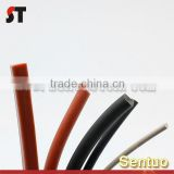 Hear Ressitanct Customized Round Extruded Solid Rubber Tube