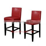Hot sales Faux Leather Red Counter Stools bar furniture