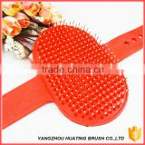Good stainless steel teeth brush pet grooming tool /pet slicker brush