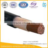 Factory Supply Double Insulated PVC Covered Welding Electrical Wire Cable 2.5mm