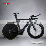 full carbon triathlon frame non-isp carbon tt bike, carbon fiber tt bicycle frameset, fork, seatpost, stem and handlebar