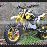 QWMOTO 49cc kids motorcycle 2 stroke 49cc mini gas kids dirt bike for cheap sale (QWMPB-02)                                                                         Quality Choice