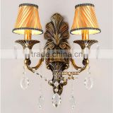 Hallway light fashion modern art deco wall sconces crystal wall lamp wholesale and retail MD8736