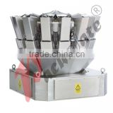 10 head combination weigher WS-10 for candy,seed,peanut,melon,nuts,jelly,cake,frozen food,pet food,cereal,biscuit,chocolate