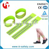 high visibility safety reflective ankle band for running walking jogging cycling                                                                         Quality Choice