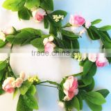 1.8m High Quality Beautiful Rose Artificial Flower