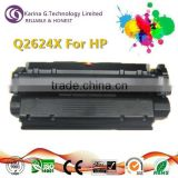 Great quality product Q2624X cartridge toner for HP LaserJet 1150 1150N,with CE,STMC,ROHS,ISO certificates