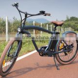 4-6 hours e charging bikes longwised beach cruiser e bike for men