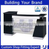 Tailor made wooden reception counter desk, front desk
