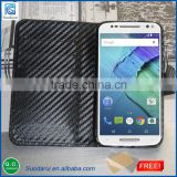 Factory price leather Wallet case cover pouch For Motorola Moto X Style Get screen protector Free
