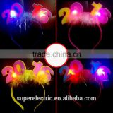 2016 newest style custom design Circlet hair hoop led light party favor, new year 's gift