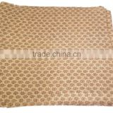 RTHKG-54 Comfortable Floral Screen Printed Vintage Look 100% Cotton kantha Gudari Bedspread Queen / Twin Bed Throws Jaipur