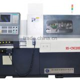 HS-CNC20D double spindle new type china manufacturer swiss type cnc lathe machine
