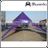 Popular advertising exhibition tents, 30 person single peak star shade tents for large events