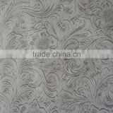 High Quality 100% Polyester Suede Embossed Blackout Fabric For Home Curtain And Hotel Curtain Flame Retardant