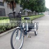 3 wheel handicapped 250W electric tricycle for adults
