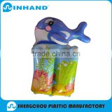 2016 hot sale dolphin pvc inflatable armband , baby swimming armband