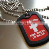 plastic military dog tags