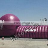 inflatable sports tunnel and tent for adults