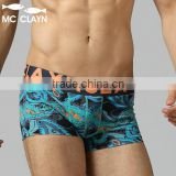 MC CLAYN Brand male cotton boxer panties elastic breathable shorts mid waist sexy Men's Boxers underwear men