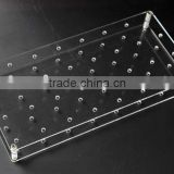 new products high clear acrylic plexiglass acrylic display rack for Lollipop for retail store