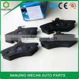 Familiar with ODM factory performance auto parts Brake pad iron material for chinese car korean car