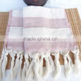 Hand and Face Towels Organic Turkish Towel