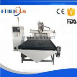 Philicam Cheap price automatic 3d wood nesting carving cnc routing milling machine for wooden