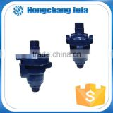 China supplier 32A duoflow npt right thread ductile cast iron rotary joint