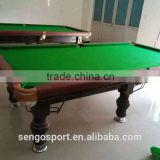2016 classic sport solid wood natural slate 8ft 9ft billiard table cheap pool tables