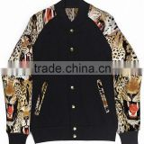 sublimation custom baseball varsity jacket / sublimation school, college bomber varsity jacket