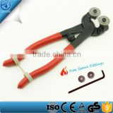 8 Inches Glass Tile Cutting Mosaic Pliers,Wheeled Mosaic Glass Tile Nipper cutter,factory Ceramic tile glass cutter pliers