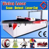 CCD Laser Micro Fabric Cutter for Printed Textile and Sport Apparel