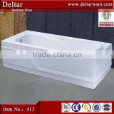 8-10mm white pure acrylic marble freestanding tub, luxury cheap bathtub body massage, exported countries business