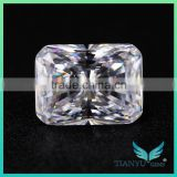 Wholesal AAAAA 9*12mm Big Octagon Radianct Cut D White American Cubic Zirconia Price