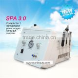 Spa use Dermabrasion Diamond Peeling and Water Jet Beauty Aqua Facial Dermabrasion Peel equipment