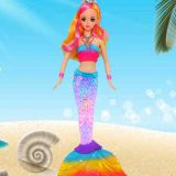 HS Group HaS Toys barbie mermaid for girls