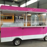 Best Price Crepe Dining Room Food Cart Kiosk Makers in the Street in China